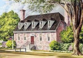 traditional colonial home plan 32524wp architectural designs
