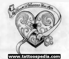 36 gothic heart tattoo designs