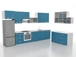 small l shaped kitchen design 3d model 3ds max files free download