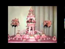 baby shower diaper cake instructions youtube