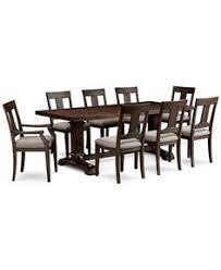 baker street dining table baker street dining furniture 9 pc set dining trestle table 6