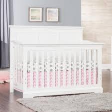White Convertable Crib Child Craft Kelsey 4 In 1 Convertible Crib Wayfair