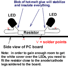 how to replace e30 obc light and how to upgrade to an led light