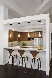 mini kitchen design ideas small white kitchen design with marble mini bar decoration