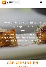formation cap cuisine cap cuisine à distance par correspondance