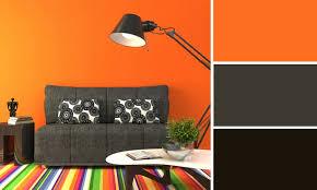 cuisine orange et gris chambre orange et gris idées décoration intérieure farik us
