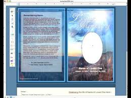 microsoft word insert an photo into an oval frame funeral program