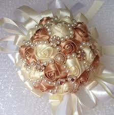 Quinceanera Bouquets Discount Ivory Gold Wedding Bouquets 2017 Ivory Gold Wedding