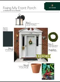 my home a front door makeover plan the anatomy of design