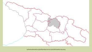 south ossetia map 1991 92 south ossetia war