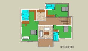 Floor Plan 4 Bedroom Bungalow 4 Bedroom Duplex Floor Plan Descargas Mundiales Com
