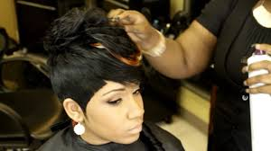 short black weave style hairstyle picture magz