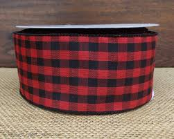 and black plaid ribbon 43 best cottage co ribbon by the roll images on