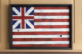 Flag With Red Circle Grand Union Flag Philip Marc Sons Of Liberty