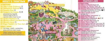 Disney Map Disneyland Fantasyland U0026 Toontown Interactive Map