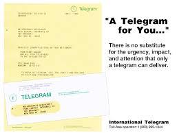 how do you send a telegram international telegram send a telegram to united states