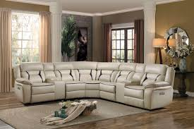 beige leather sectional sofa home elegance 8229 7pc 7 pc amite collection beige leather gel match
