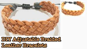 adjustable braided leather bracelet images Diy leather bracelets adjustable braided leather bracelets jpg