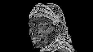 free illustration maasai tribal drawing black free image on