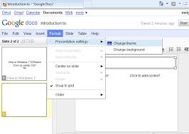 how to create an online powerpoint presentation with google docs