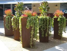 planters interesting copper planters tall copper planters tall