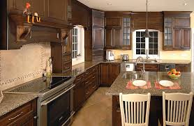 cuisine armoire brune réalisations armoires trudeau