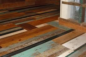 lovable recycled wood flooring the trendy painted reclaimed wood