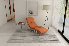 white and gray patchwork cowhide rug in stripes design shine rugs