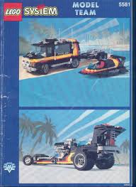 ferrari lego instructions rally van and boat with trailer 5581 lego instructions