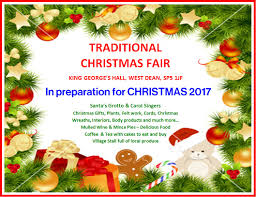 traditional christmas fair in preparation for christmas 2017