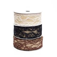 burlap and lace ribbon lace ribbons www partymill