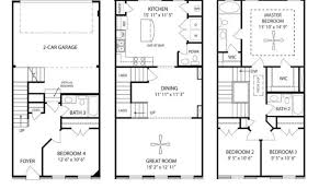 3 story townhouse floor plans 20 4 story townhouse floor plans photo home building plans