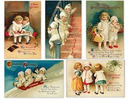 136 best christmas ephemera collections vintage images on