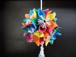 3d Origami Flower Vase Tutorial 100 How To Make Origami Flower Diy Lamp Flower Ball Learn