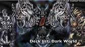 deck list dark world ita youtube