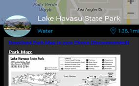 Arizona State Parks Map by Arizona State Parks Android Apps On Google Play