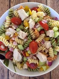 Pasta Salad Recipies by Easy Chicken Pasta Salad U2013 Healthy Main Dish Pasta Salad Recipe