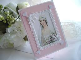 Card For Bride From Groom Vintage Downton Inspired Made In Usa Card Memento By Handcraftusa
