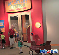discovery station at conner prairie indy with kids