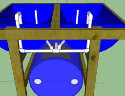DIY Aquaponics System For Indoor And Backyard The Self - Backyard aquaponics system design