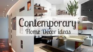 home decorating com 6 contemporary home décor ideas youtube