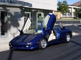 lamborghini diablo 1997 1997 lamborghini diablo vt roadster