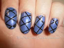 easy at home nail art 19 u2013 striping tape nail art for beginners