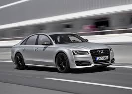 audi s8 matte black audi s8 plus packs 605 horses and 305km h top speed