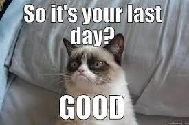Last Day Of Work Meme - last day of work quickmeme