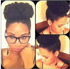 pics of black pretty big hair buns with added hair i can t wait until my hair is long enough to do a proper bun sigh