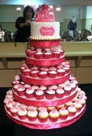 princess themed baby shower mini gumpaste tiaras on cupcakes and