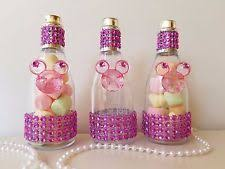 minnie mouse baby shower favors 12 minnie mouse fillable chagne bottles baby shower favors