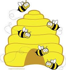 bee clipart honey bee clipart image honey bee flying around honey 2