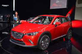 mazda crossover 2016 mazda cx 3 crossover arrives at l a auto show